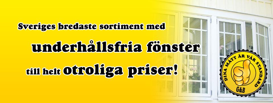 Fönster Växjö, Kalmar & Norrköping